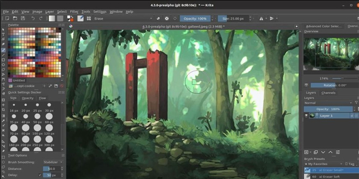 Krita-tool-for-comic-strips-concept-art-textures