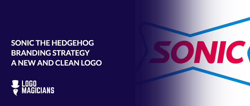 SONIC THE HEDGEHOG BRANDING STRATEGY A NEW AND CLEAN LOGO