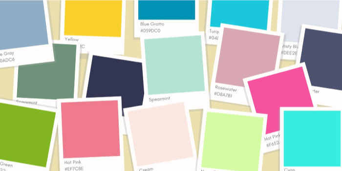 Choosing right colors: